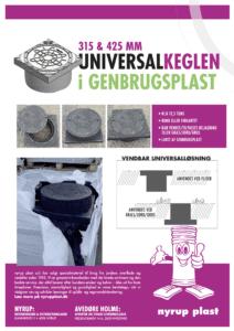 Universalkeglen i genbrugsplast