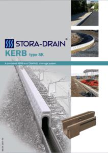 Stora-Drain kerb type SK