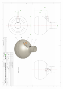 Tegning Regnvandstank 3m3