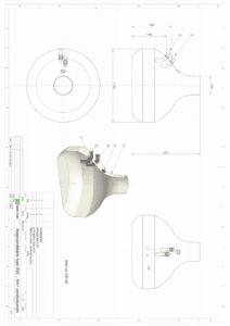 Tegning Regnvandstank 5m3
