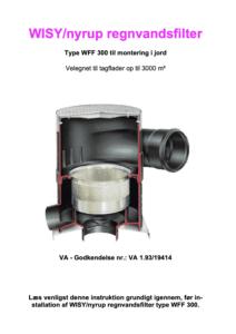 regnvandsfilter WFF300