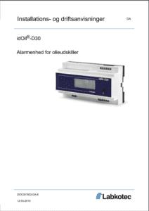 idOil-D30 installation