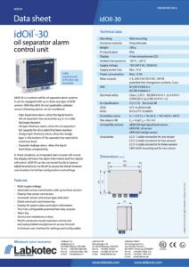 idOil-30 alarmguide
