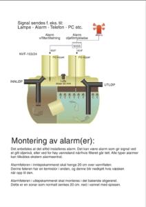 Alarm i olieudskiller