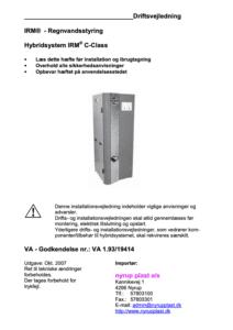 Hybridsystem IRM C-Class